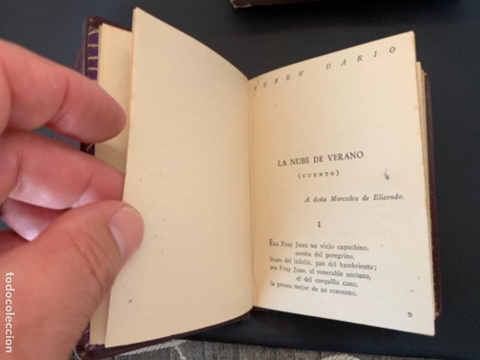 Libros antiguos: RUBEN DARIO POESIAS ESCOGIDAS DOS VOLUMENES - Foto 9 - 285762373