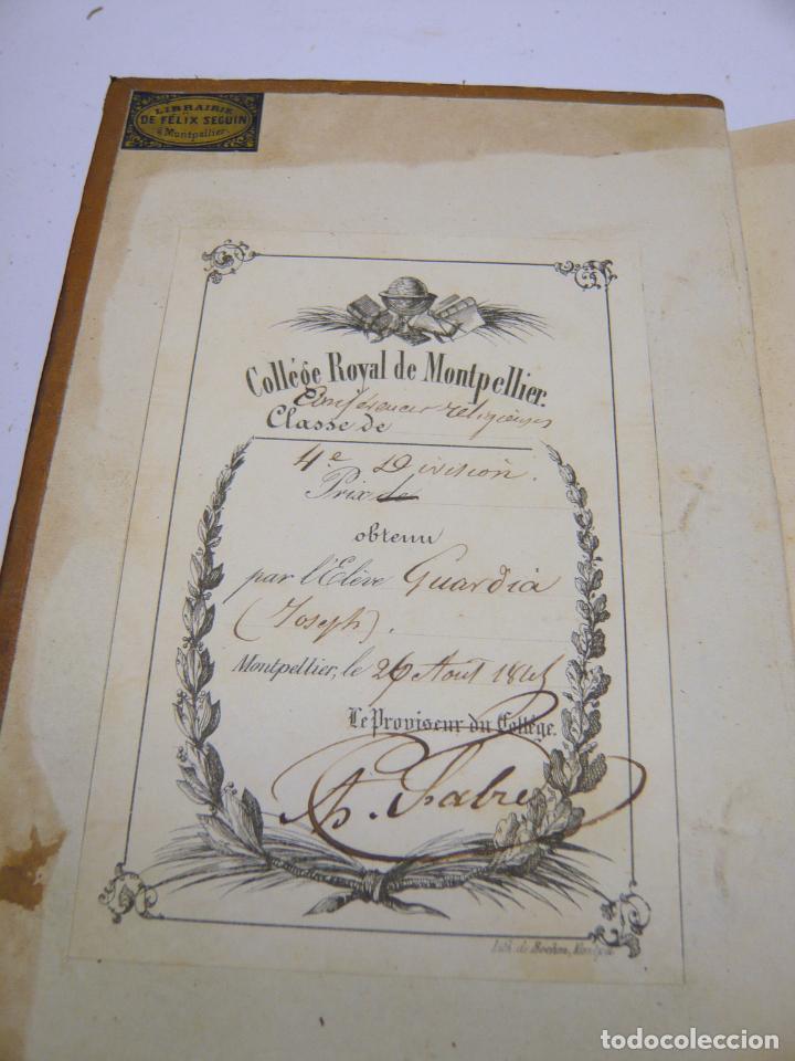Libros antiguos: Harmonies poétiques et religieuses en 2 tomos año 1830 - LAMARTINE Alphonse de. - Foto 3 - 287793418