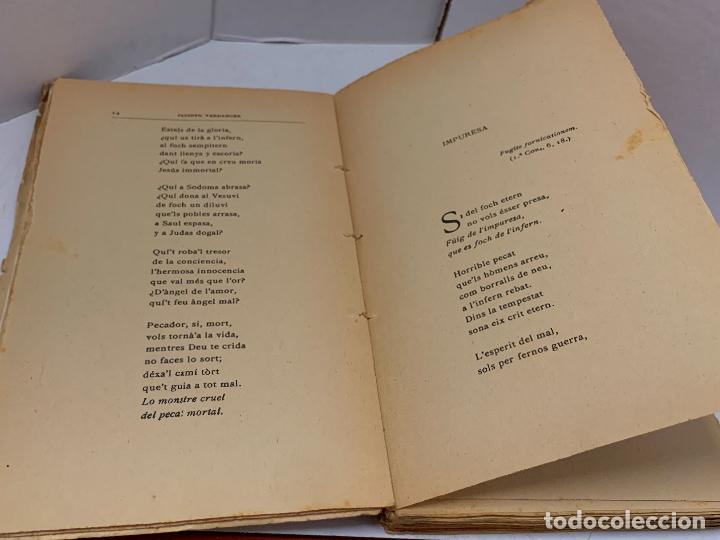 Libros antiguos: Mossen JACINTO VERDAGUER - VEUS DEL BON PASTOR. num XIV, S.XIX 131 pags. Ilustracio Catalana - Foto 4 - 288461883