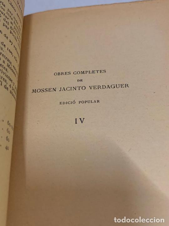Libros antiguos: Mossen JACINTO VERDAGUER - CARITAT. num IV, S.XIX 104 pags. Ilustracio Catalana - Foto 3 - 288462873