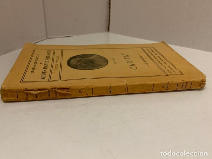 Libros antiguos: Mossen JACINTO VERDAGUER - CARITAT. num IV, S.XIX 104 pags. Ilustracio Catalana - Foto 5 - 288462873
