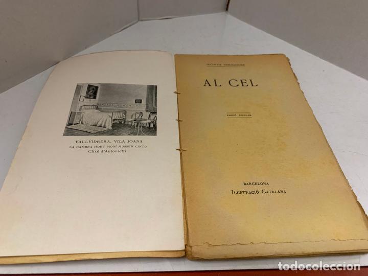 MOSSEN JACINTO VERDAGUER - AL CEL. NUM XXIII, S.XIX 96 PAGS. ILUSTRACIO CATALANA (Libros antiguos (hasta 1936), raros y curiosos - Literatura - Poesía)