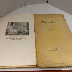 Libros antiguos: MOSSEN JACINTO VERDAGUER - AL CEL. NUM XXIII, S.XIX 96 PAGS. ILUSTRACIO CATALANA. Lote 288463663