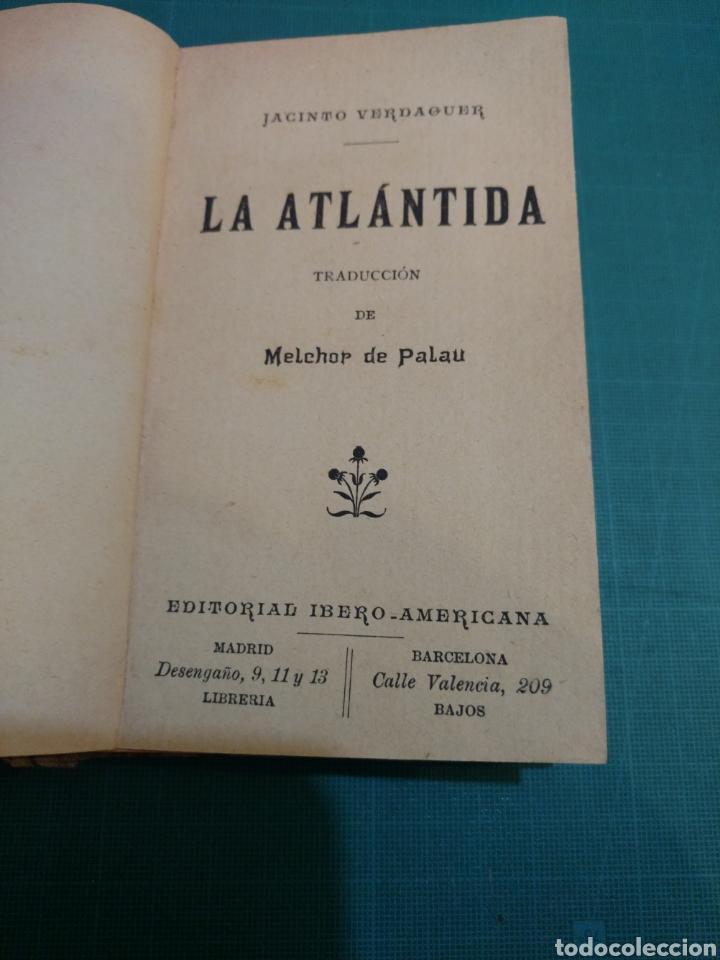Libros antiguos: LA ATLÁNTIDA.JACINTO VERDAGUER . TRADUCCIÓN DE MELCHOR DE PALAU.ED IBER0 AMERICANA1876 - Foto 2 - 288465623