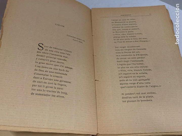 Libros antiguos: Mossen JACINTO VERDAGUER - MONTSERRAT. num III, S.XIX 207 pags. Ilustracio Catalana - Foto 6 - 288466643