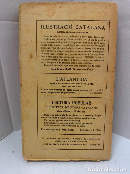 Libros antiguos: Mossen JACINTO VERDAGUER - RONDALLES. num XXIV, S.XIX, 162 pags, Ilustracio Catalana - Foto 5 - 288470048