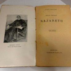 Libros antiguos: MOSSEN JACINTO VERDAGUER - JESUS INFANT, NAZARETH. NUM XII, S.XIX, 82 PAGS, ILUSTRACIO CATALANA. Lote 288473278