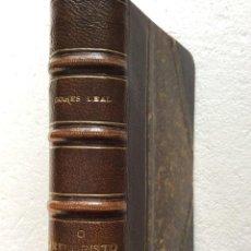 Libros antiguos: JOSÉ AGOSTINHO. CHRISTO ( POEMA ), 1901. 1.ª EDICIÓN. HERMOSA ENCUADERNACIÓN. EN PORTUG. MUY ESCASO. Lote 289701633