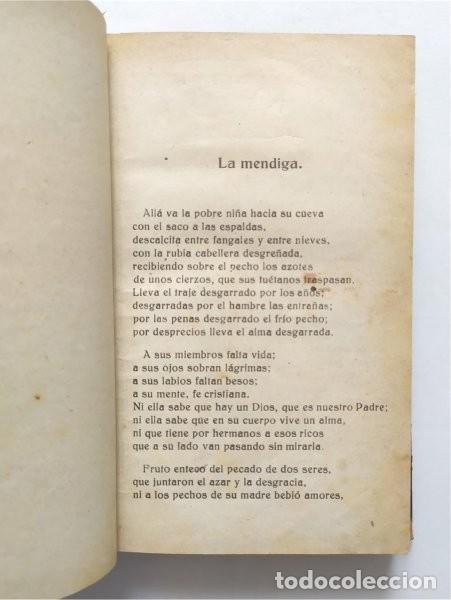 Libros antiguos: Amor de madre. Colección de poesías líricas y dramáticas. P. Alberto Risco, jesuita. Madrid, 1922 - Foto 4 - 289715923