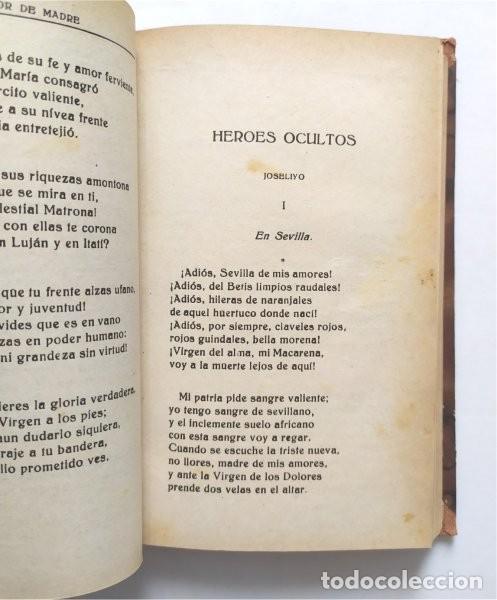 Libros antiguos: Amor de madre. Colección de poesías líricas y dramáticas. P. Alberto Risco, jesuita. Madrid, 1922 - Foto 5 - 289715923