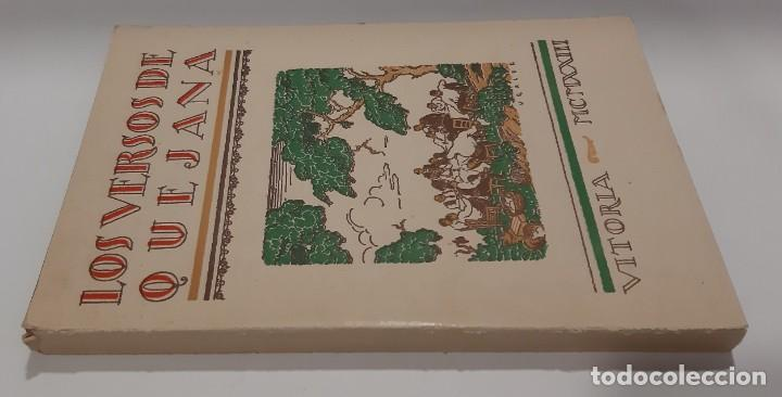 Libros antiguos: LOS VERSOS DE QUEJANA VITORIA. MCMXXIII. SÁENZ DE QUJANA. - Foto 3 - 50515560