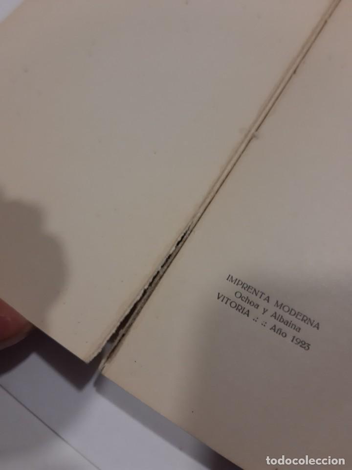 Libros antiguos: LOS VERSOS DE QUEJANA VITORIA. MCMXXIII. SÁENZ DE QUJANA. - Foto 5 - 50515560