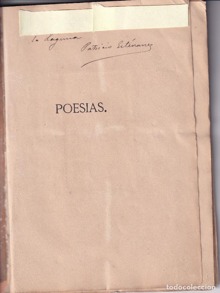 Libros antiguos: TENERIFE -POESIAS DE DIEGO ESTEVANEZ - 1874 - Foto 3 - 293543943