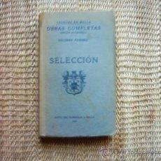 Libros antiguos: JUAN VÁZQUEZ DE MELLA Y FANJUL. OBRAS COMPLETAS VOL. I. SELECCIÓN. 1935. PRIMERA EDICIÓN.. Lote 16639268