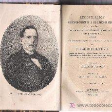 Libros antiguos: LEGISLACION DE ESPAÑA 1881-LEGIS DE CODIGOS-RECOP HISTOR-CRITIC RETRATOS DE REYES AUTORES DE CODIGOS. Lote 18410491