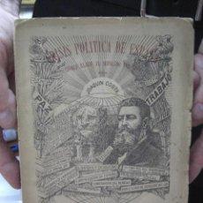 Libros antiguos: CRISIS POLÍTICA DE ESPAÑA (DOBLE LLAVE AL SEPULCRO DEL CID). 1914. JOAQUÍN COSTA. . Lote 22862388