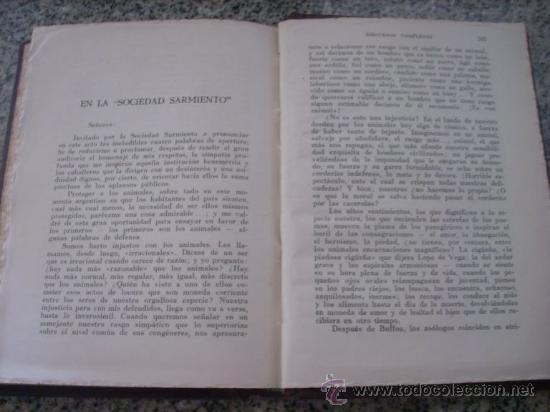 Libros antiguos: DISCURSOS COMPLETOS, por Belisario Roldán - Ediciones ANACONDA - Argentina - Edición Especial - Foto 3 - 27625382
