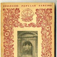Libros antiguos: SCHMID : SUISSA, DEMOCRÀCIA I FEDERALISME (1933) - COL. BARCINO. EN CATALÁN. Lote 29915243