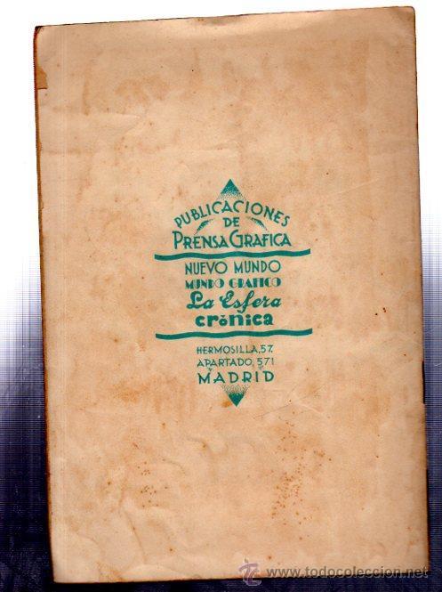 Libros antiguos: LA NOVELA POLÍTICA, SEIS AÑOS DE ABSOLUTISMO, CÉSAR GONZÁLEZ RUANO, PRENSA GRÁFICA, MADRID, 1930, 5 - Foto 3 - 32064819
