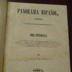 Libros antiguos: PANORAMA ESPAÑOL, 1842-45 , 2 VOL. (T:I-II Y T:III-IV) CRÓNICA CONTEMPORÁNEA. . Lote 32450165