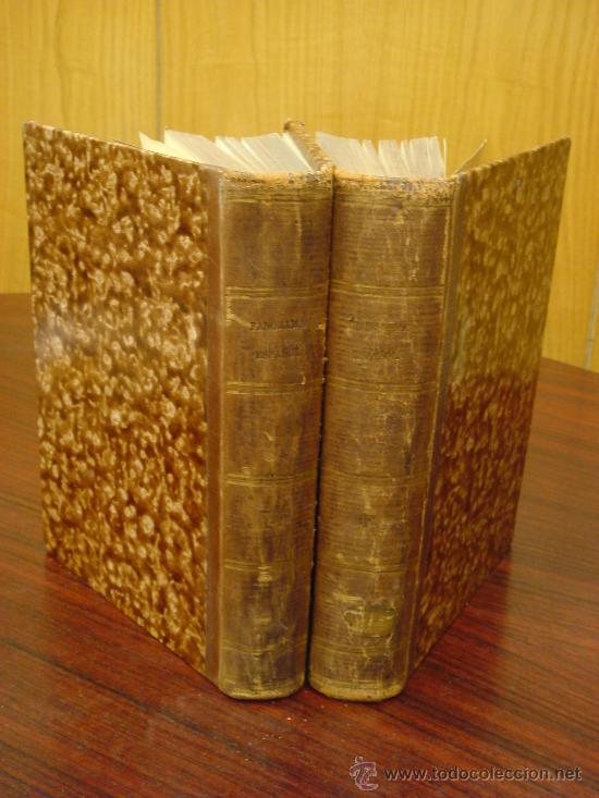 Libros antiguos: Panorama Español, 1842-45 , 2 Vol. (T:I-II y T:III-IV) Crónica contemporánea. - Foto 11 - 32450165