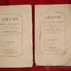 Libros antiguos: LIBRO DEL PUEBLO TOMO I Y II. Lote 33644731