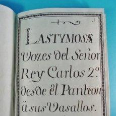 Libros antiguos: MANUSCRITO DEL SIGLO XVIII. 4 OPUSCULOS POLÍTICOS Y SATÍRICOS. 89 PAGINAS.. Lote 34440300