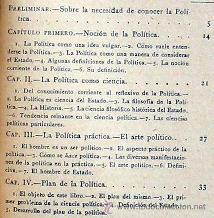Libros antiguos: CIENCIA POLÍTICA - MANUALES SOLER Nº 8 - ADOLFO POSADA - VER ÍNDICE - Foto 3 - 35338897