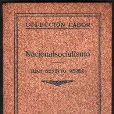 Libros antiguos: 1934 - NACIONALSOCIALISMO - J.BENEYTO PEREZ - 16 LAMINAS - LABOR. Lote 36137374