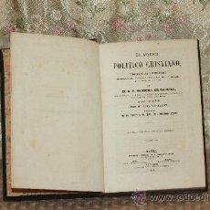 Libros antiguos: 3167- EL PODER POLITICO CRISTIANO. P. VENTURA DE RAULICA. LIB. DE LEOCADIO LOPEZ. 1859.. Lote 37230241