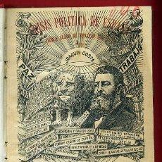 Libros antiguos: LIBRO CRISIS POLITICA, JAOQUIN COSTA , 1914 MADRID, 3ª EDICION AUMENTADA , ORIGINAL . Lote 37269833