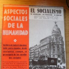 Libros antiguos: EL SOCIALISMO : SU APARICIÓN, SU EVOLUCIÓN, SU OBJETO - VVAA. Lote 37736712