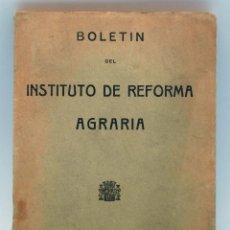 Boletín Instituto de Reforma Agraria nº 16 Año II Octubre 1933 Hijos MG Hernández República Española