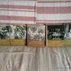 Libros antiguos: LA ESPAÑA POLITICA DEL SIGLO XX EN FOTOGRAFIAS Y DOCUMENTOS 5 VOLUMENES COMPLETA. Lote 208302863