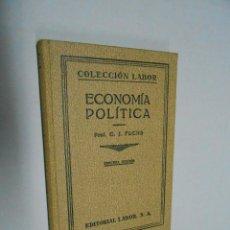 Libros antiguos: ECONOMÍA POLITICA***C.J. FUCHS**COLECCIÓN LABOR**1932. Lote 40453981