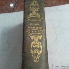 Libros antiguos: LIBRO ANTIGUO. MONTESQUIEU, EL ESPÍRITU DE LAS LEYES, TOMOS1Y 2TRADUCCIÓN NARCISO BUENAVENTURA. 184. Lote 40714910