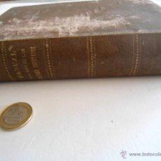 Libros antiguos: LIBRO MANUAL PARA USO SEÑORES DIPUTADOS AÑO 1900. Lote 40877879