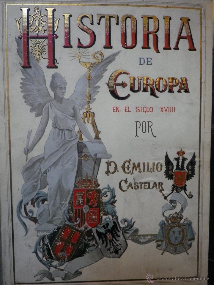 historia de europa siglo xviii 1896-1900 - Comprar Libros antiguos ... f258209700e