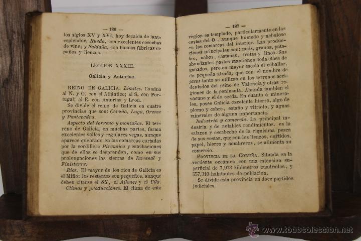 Libros antiguos: D-026. CURSO ELEMENTAL DE GEOGRAFIA. ANTONIO FORNES. IMP. JAIME JEPUS. 1875. - Foto 2 - 41705679