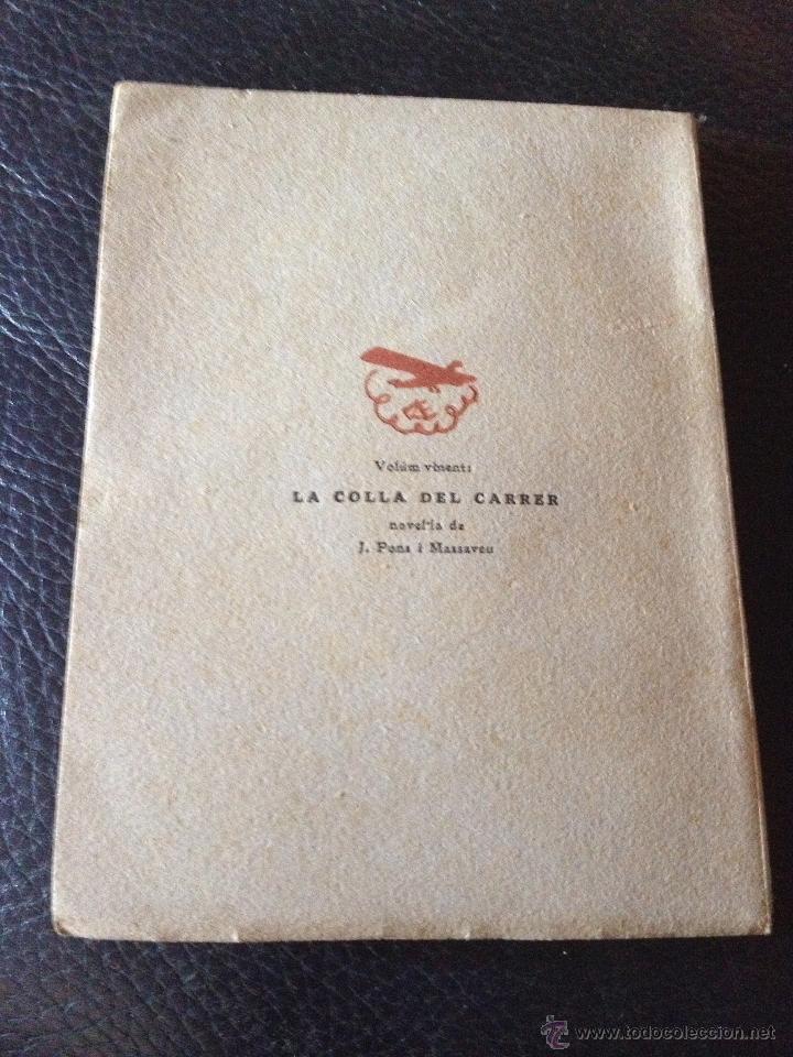 Libros antiguos: La nacionalitat catalana - Enric Prat de la Riba - Les ales esteses Col.lecció Popular n.20 any 1930 - Foto 4 - 43936709