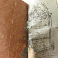 Libros antiguos: CONTRADICIONES POLITICAS. TEORIA DEL MOVIMIENTO CONSTITUCIONAL EN EL SIGLO XX. J. PROHUDJON 1873. Lote 45682953