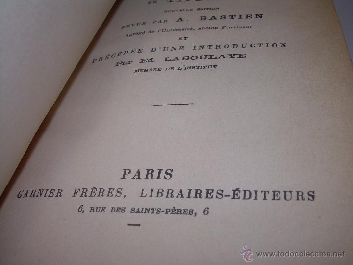 Libros antiguos: LIBRO TAPAS DE PIEL......LA POLITIQUE DE ARISTOTE. - Foto 5 - 48369711