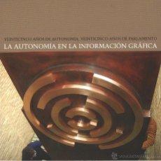 Libros antiguos: LA AUTONOMÍA EN LA INFORMACIÓN GRÁFICA - ARAGÓN. Lote 48932582