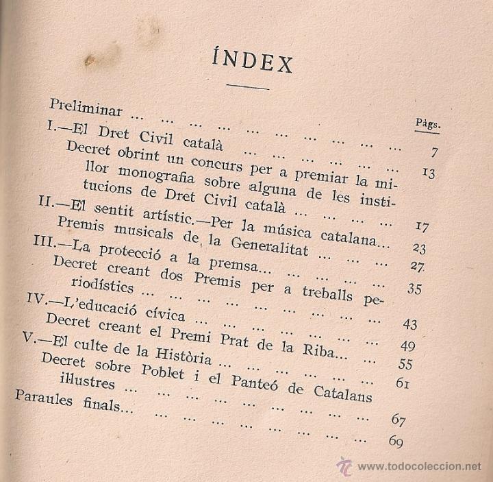 Libros antiguos: Les essencies del catalanisme i laccio de govern / L. Duran i Ventosa. BCN : Puig, 1936. 19x12cm. - Foto 2 - 51052144