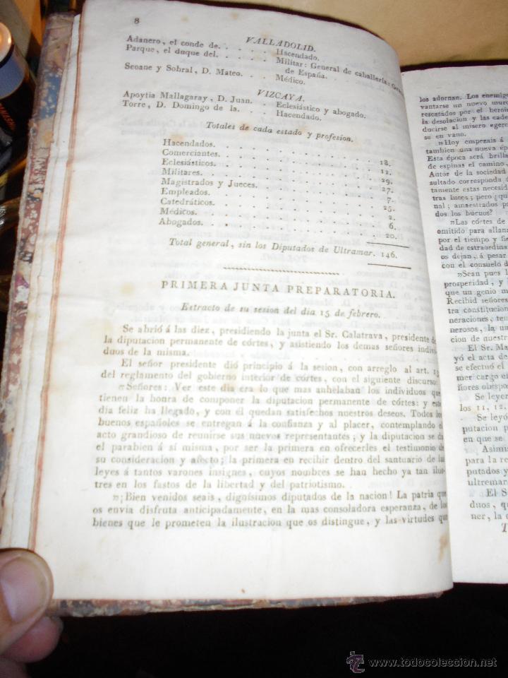 Libros antiguos: COMPENDIO DE LAS SESIONES DE CÓRTES EN LA LEGISLATURA DEL AÑO 1822 TOMO IV IMP. VIUDA É HIJOS DE D - Foto 3 - 51123614