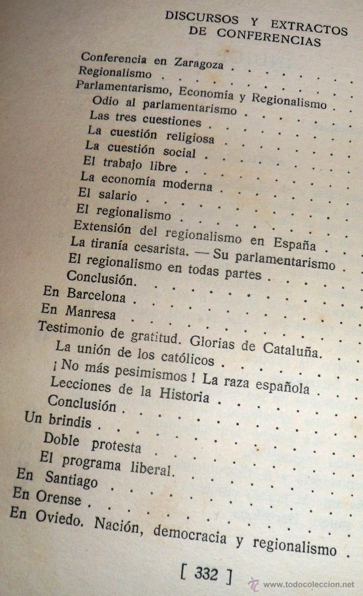 Libros antiguos: REGIONALISMO. TOMOS I Y II. DON JUAN VAZQUEZ DE MELLA Y FANJUL. (1935) VER DETALLES. 1A EDICIÓN - Foto 16 - 51480922
