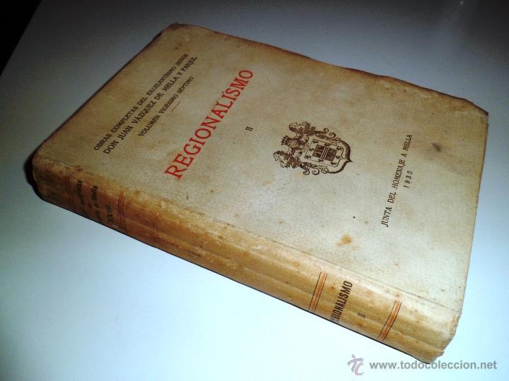 Libros antiguos: REGIONALISMO. TOMOS I Y II. DON JUAN VAZQUEZ DE MELLA Y FANJUL. (1935) VER DETALLES. 1A EDICIÓN - Foto 22 - 51480922