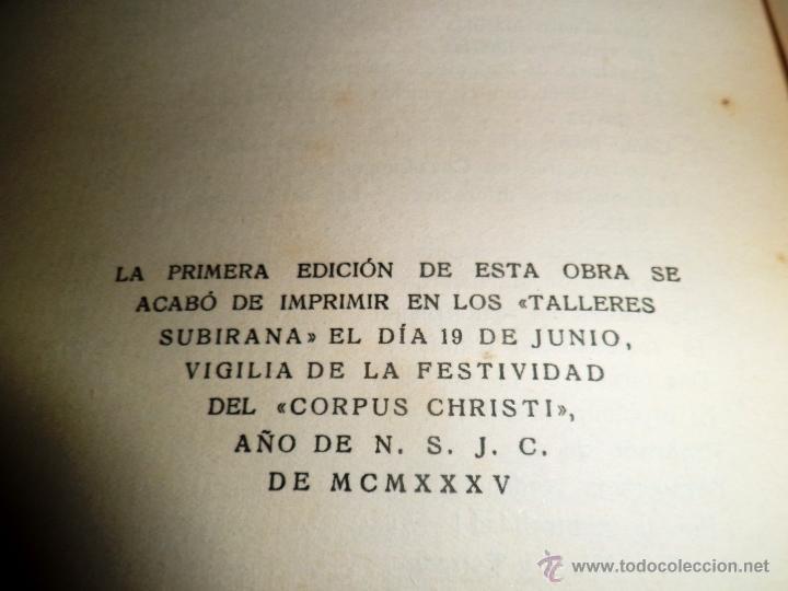 Libros antiguos: REGIONALISMO. TOMOS I Y II. DON JUAN VAZQUEZ DE MELLA Y FANJUL. (1935) VER DETALLES. 1A EDICIÓN - Foto 23 - 51480922