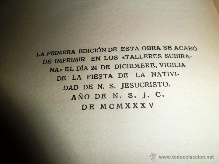 Libros antiguos: REGIONALISMO. TOMOS I Y II. DON JUAN VAZQUEZ DE MELLA Y FANJUL. (1935) VER DETALLES. 1A EDICIÓN - Foto 24 - 51480922
