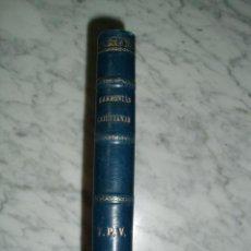 Libros antiguos: HARMONÍAS CRISTIANAS - VALENTÍN GÓMEZ Y GÓMEZ - 1888. Lote 52094535